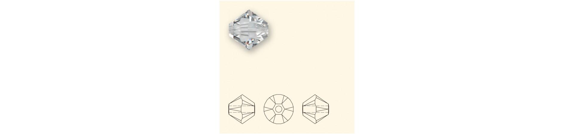 5328 XILION bi-cone (Bicone) bead