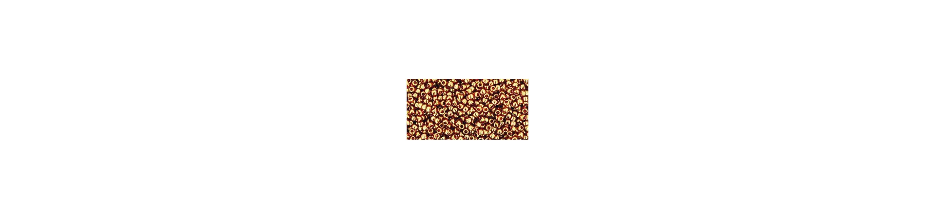 Round seed beads 15/0 (1.5mm)