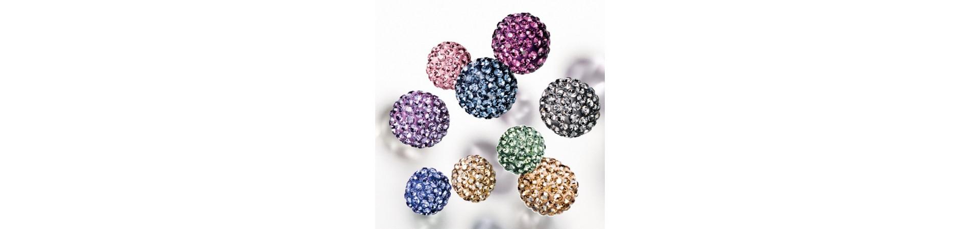 Pavè Ball Beads