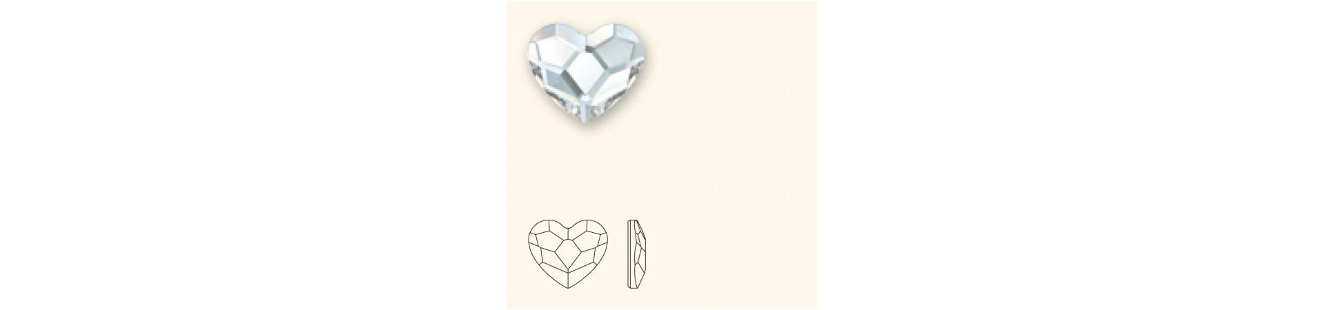 2808 Сердце (Heart) с плоским основанием