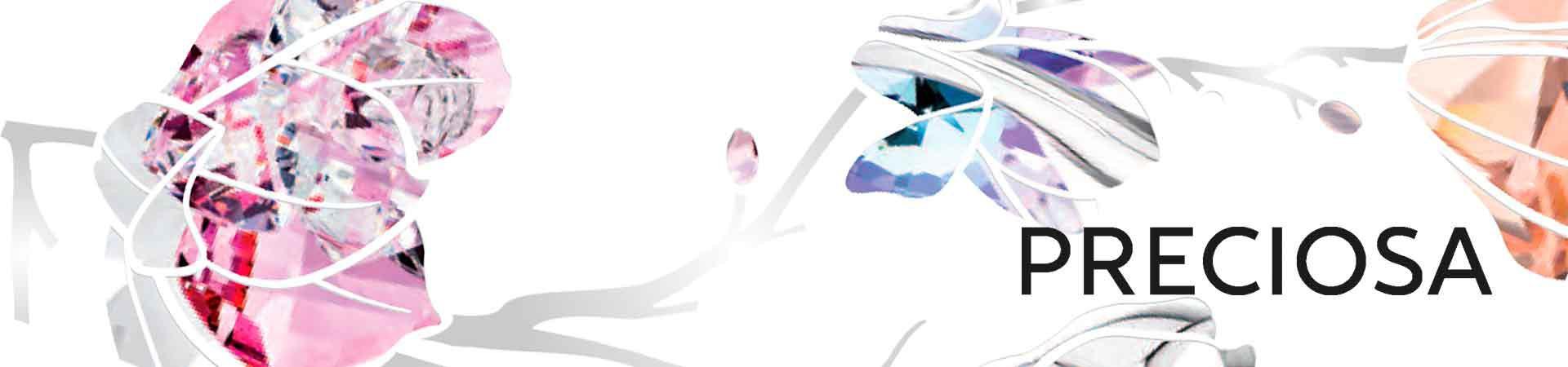 PRECIOSA Ювелирные изделия Silver Elegance отличается неподражаемым сверканием и точным фацетированием.
