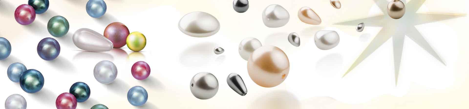 Имитации жемчуга Preciosa в совершенстве имитируют натуральный жемчуг
