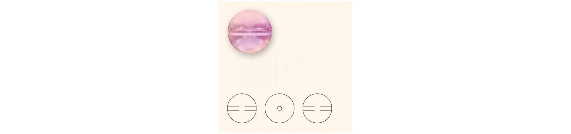 5028/4 Crystal Globe Beads