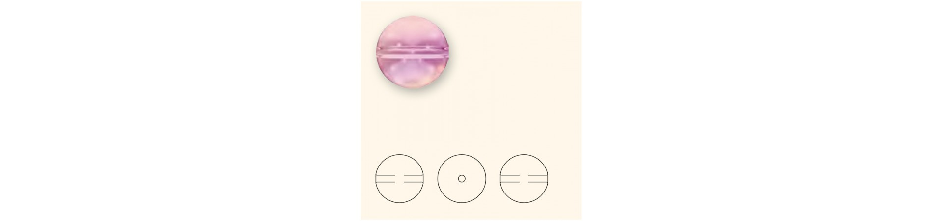 5028/4 Crystal Globe бусинки