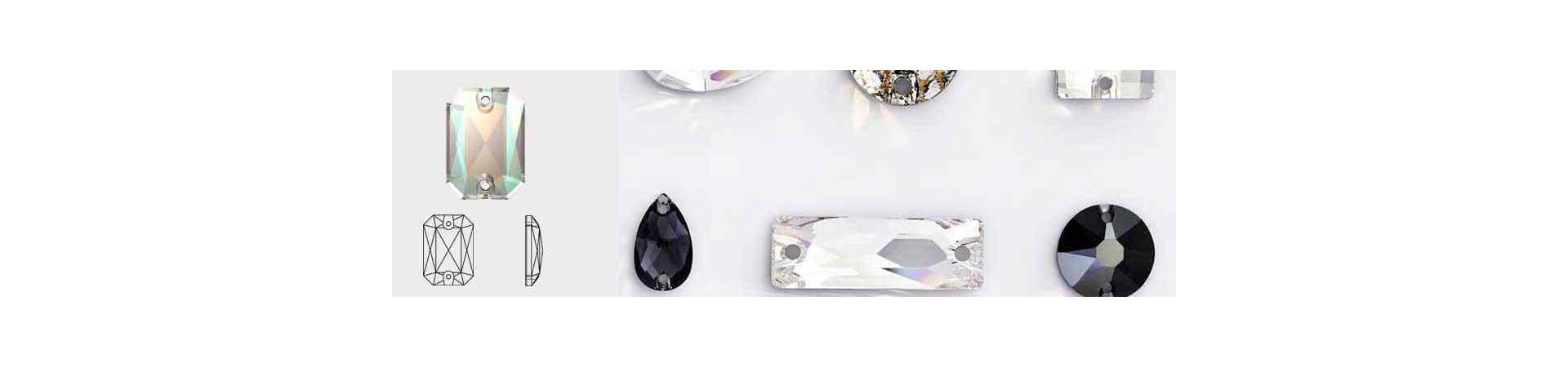 Emerald Cut 3252 Пришивные Кристаллы